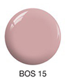SNS Nail Color Dipping Powder  FADED CARNATION  BOS15  1 OZ