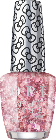 OPI INFINITE SHINE HOLIDAY HELLO KITTY BORN TO SPARKLE HRL44