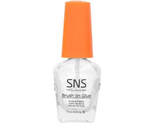 SNS LIQUID 0.5 OZ  BRUSH ON GLUE