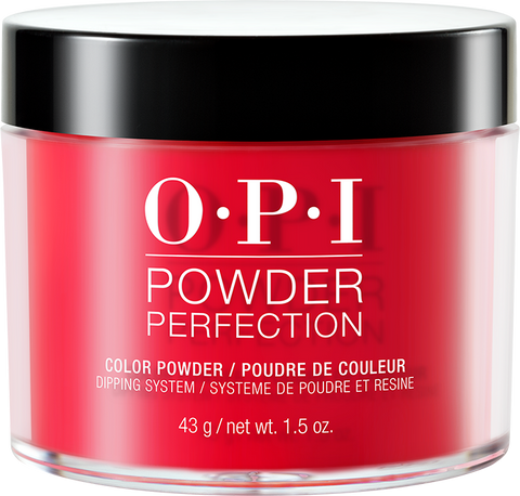 30% OFF - OPI DIPPING COLOR POWDERS - #DPC13 COCA-COLA RED 1.5 OZ  p1
