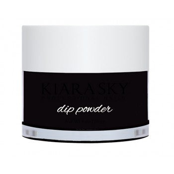 KIARA SKY DIPPING POWDER  - BLACK TO BLACK D435 1OZ
