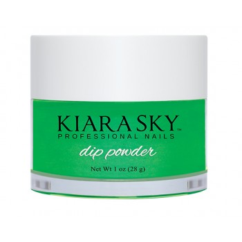 KIARA SKY DIPPING POWDER  - GREEN WITH ENVY D448 OZ