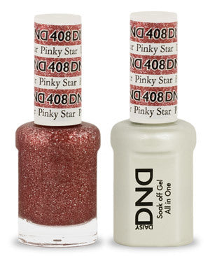 DND Gel & Lacquer 408 Pinky Star