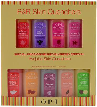 OPI R&R AVOJUICE SKIN QUENCHERS MINI SET  9 Pack