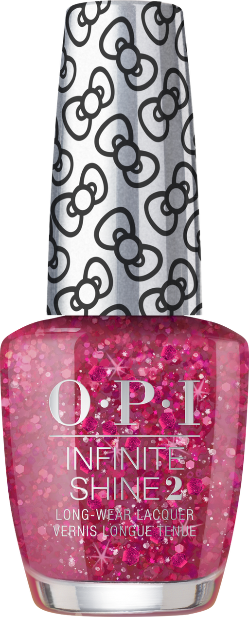 OPI INFINITE SHINE HOLIDAY HELLO KITTY DREAM IN GLITTER HRL45