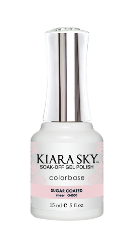 KIARA SKY GEL POLISH .5 OZ - #4000 SUGAR COATED - JELLY COLLECTION  p1