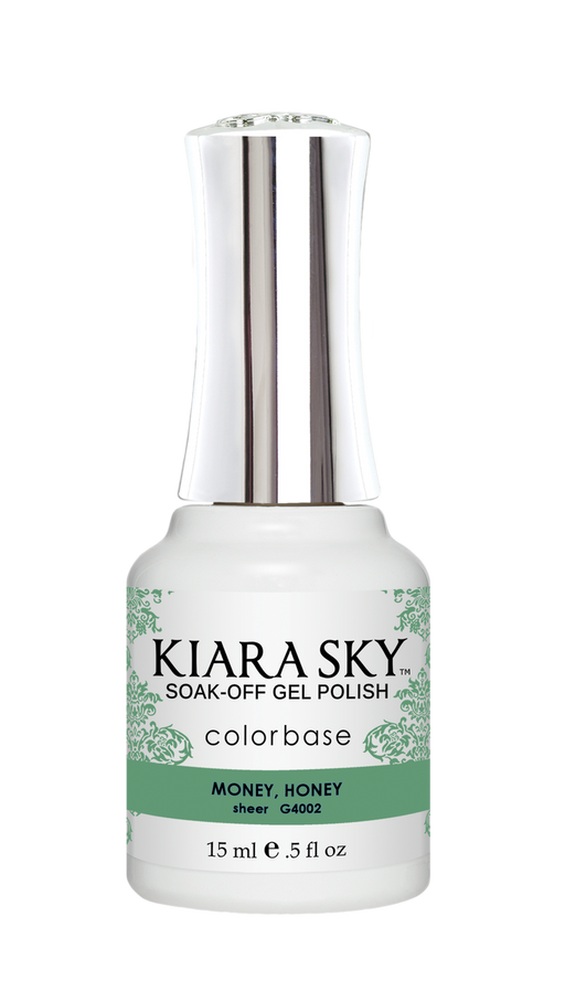 KIARA SKY GEL POLISH .5 OZ - #4002 MONEY, HONEY - JELLY COLLECTION  p1