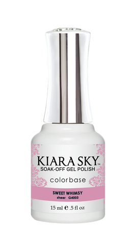 KIARA SKY GEL POLISH .5 OZ - #4003 SWEET WHIMSY - JELLY COLLECTION  p1