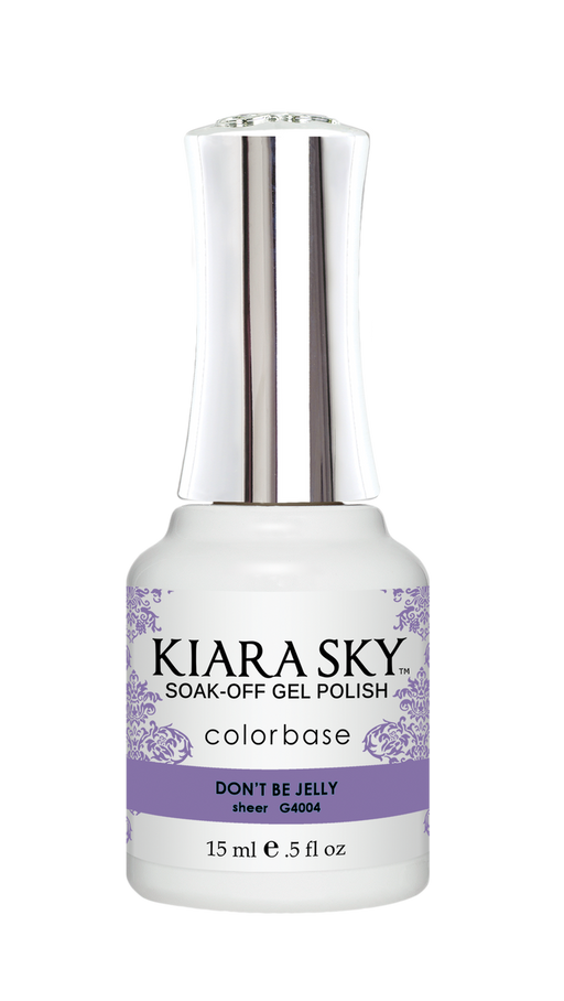 KIARA SKY GEL POLISH .5 OZ - #4004 DON'T BE JELLY - JELLY COLLECTION  p1