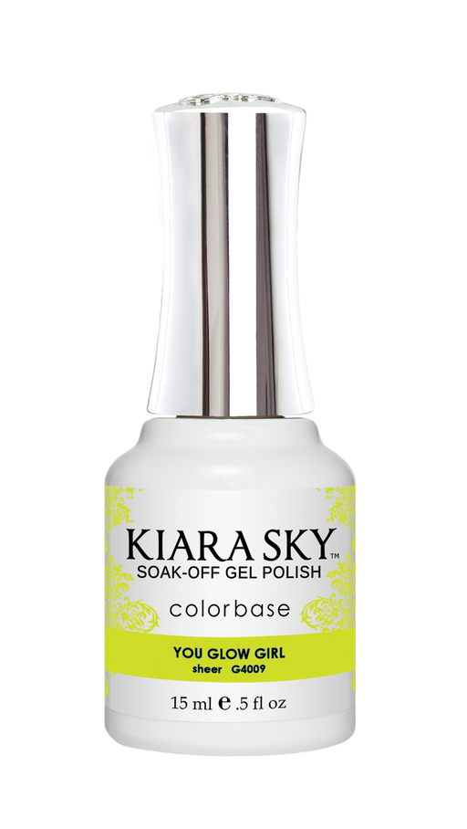 KIARA SKY GEL POLISH .5 OZ - #4009 YOU GLOW GIRL - JELLY COLLECTION p1