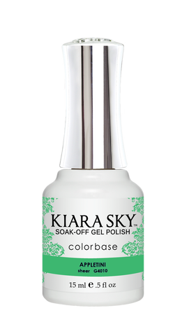 KIARA SKY GEL POLISH .5 OZ - #4010 APPLETINI - JELLY COLLECTION  p1