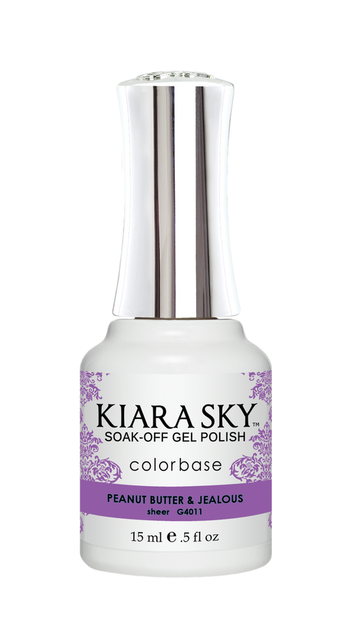 KIARA SKY GEL POLISH .5 OZ - #4011 PEANUT BUTTER & JEALOUS - JELLY COLLECTION  p1