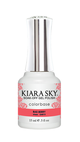KIARA SKY GEL POLISH .5 OZ - #4013 BAE-BERRY - JELLY COLLECTION  p1