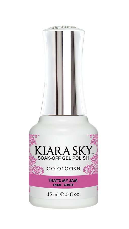 KIARA SKY GEL POLISH .5 OZ - #4015 THAT'S MY JAM - JELLY COLLECTION  p1
