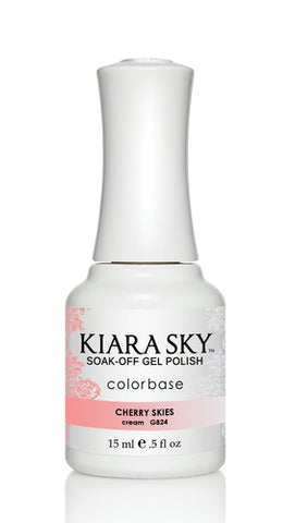 Kiara Sky Ombre Color Changing Gel Polish  Cherry Skies  G824