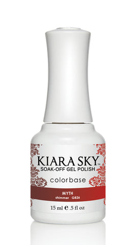 Kiara Sky Ombre Color Changing Gel Polish Myth G826