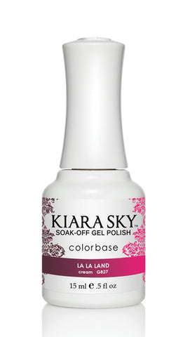 Kiara Sky Ombre Color Changing Gel Polish  La La Land G827