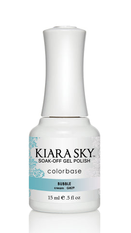 Kiara Sky Ombre Color Changing Gel Polish  Bubble G829