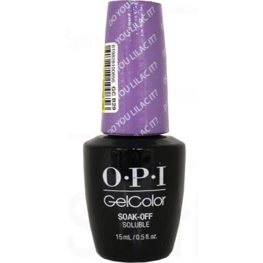OPI Gel Polish GCB29 Do You Lllac It?