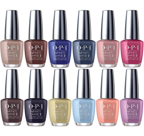 OPI INFINITE SHINE Iceland 2017 Nail Polish Infinite Shine Collection Full Set 12 x 15ml