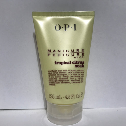 OPI Manicure Pedicure Tropical Citrus Soak Scrub 4.2 oz