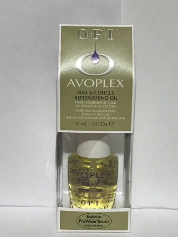 OPI Avoplex Nail & Cuticle Replenishing Oil 0.5 oz
