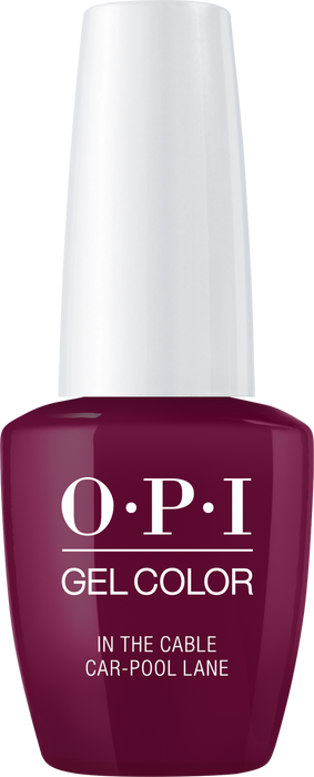 OPI GELCOLOR - #GCF62 IN THE CABLE CAR-POOL LANE .5 OZ  p1