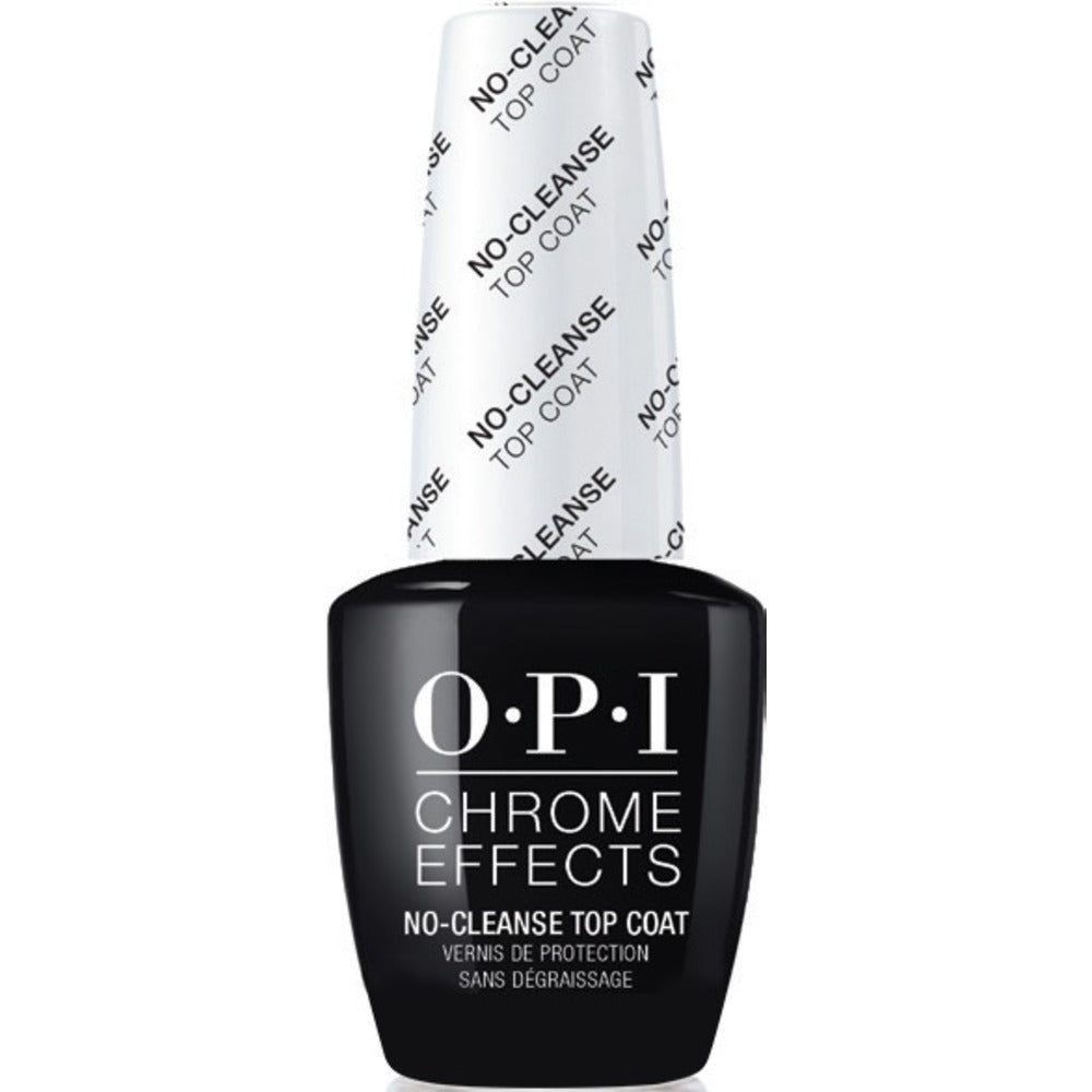 OPI Chrome Effects No-Cleanse Gel Top Coat 0.5oz