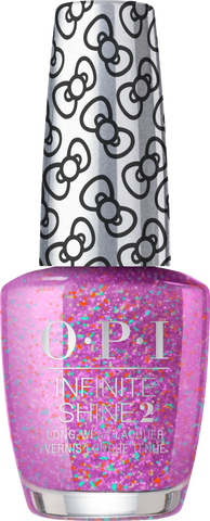 OPI INFINITE SHINE HOLIDAY HELLO KITTY LET'S CELEBRATE! HRL34