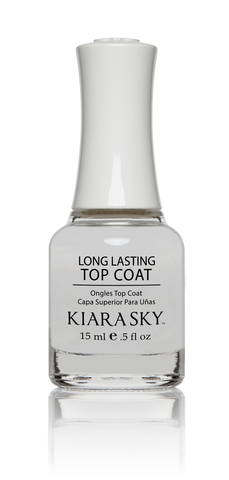 KIARA SKY NAIL LACQUER TOP COAT LONG LASTING 0.5oz