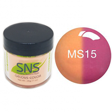 SNS Nail Color Mood Dipping Powder MS15 1oz