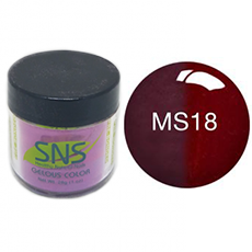 SNS Nail Color Mood Dipping Powder MS18 1oz