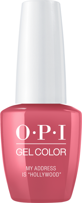 "OPI GELCOLOR - #GCT31 MY ADDRESS IS ""HOLLYWOOD"" .5 OZ  p1"