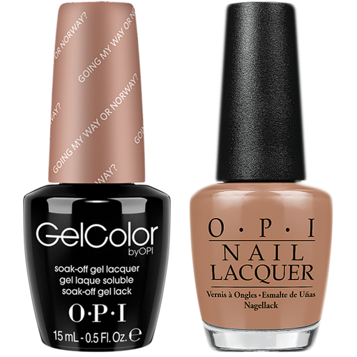 OPI Gel Color + Nail Lacquer 0.5oz Going My Way or Norway? N39