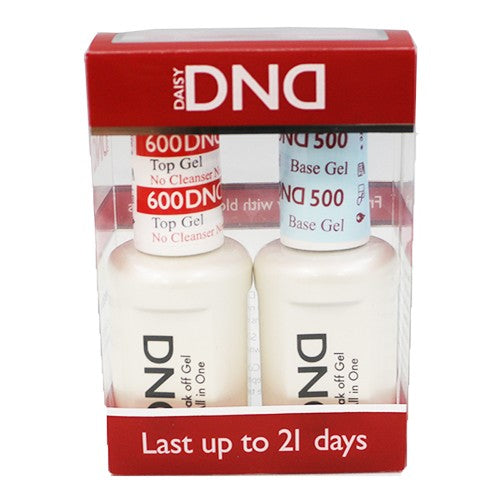 DND  Gel Base & No Cleanser Top