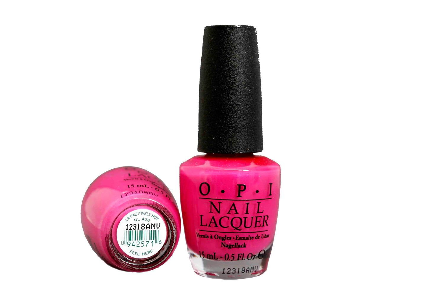 OPI Nail Polish NL A20 La Paz-itively Hot