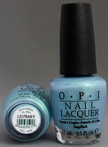 OPI Nail Polish NL B43 Go On Green