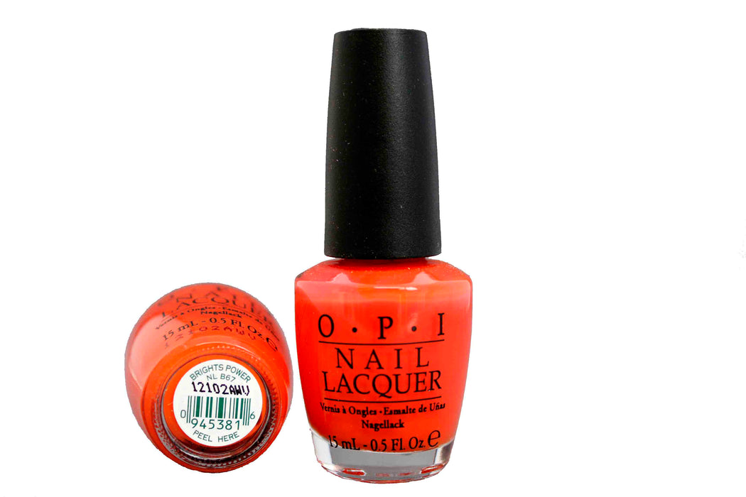 OPI Nail Polish NL B67 Bright Power