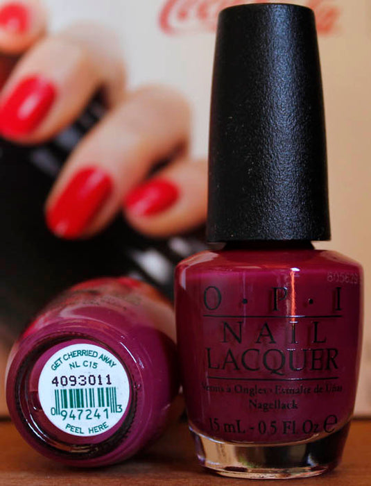 OPI Nail Polish NL C15 Get Cherried Away