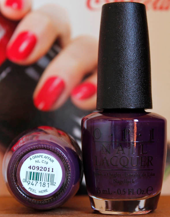 OPI Nail Polish NL C19 A Grape Affair