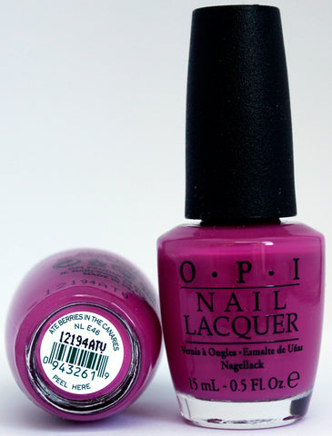 OPI Nail Polish NL E46 Ate Berries in the Canaries