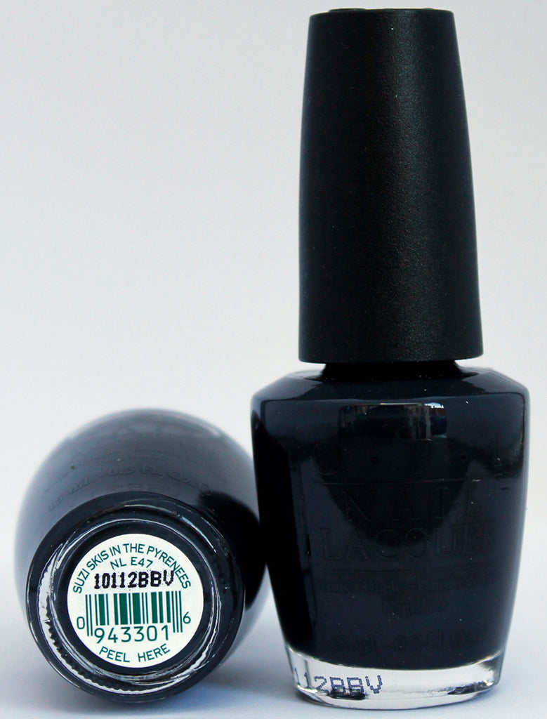OPI Nail Polish NL E47 Suzi Skis in the Pyrenees