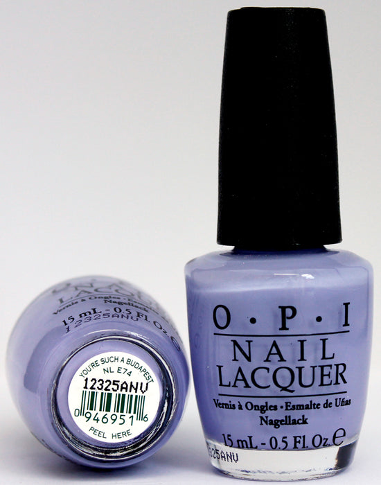 OPI Nail Polish NL E74 You're Such a Budapest