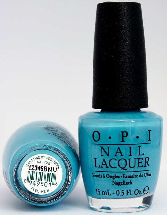 OPI Nail Polish NL E75 Can't Find my Czechbook