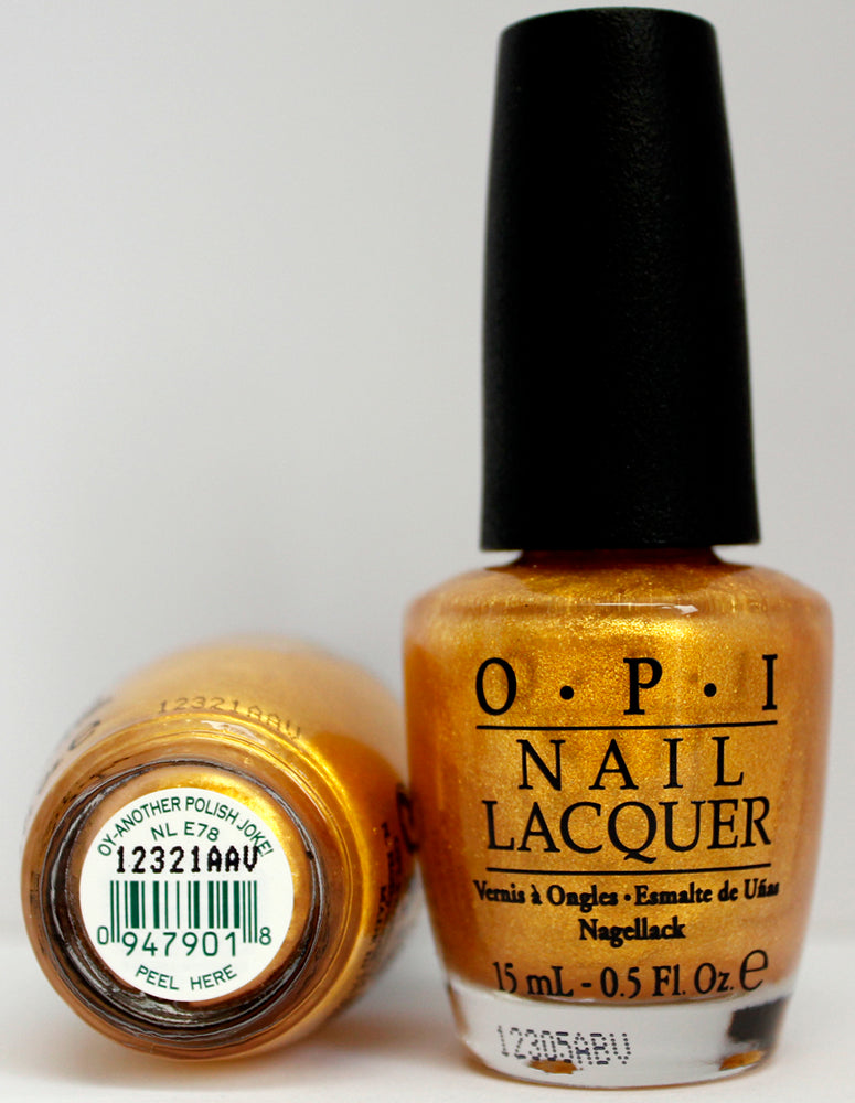 OPI Nail Polish NL E78 OY-Another Polish Joke!