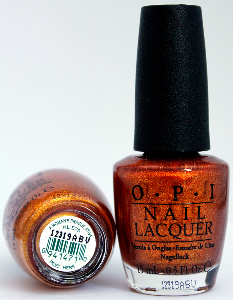 OPI Nail Polish NL E79 A Woman's Prague-ative