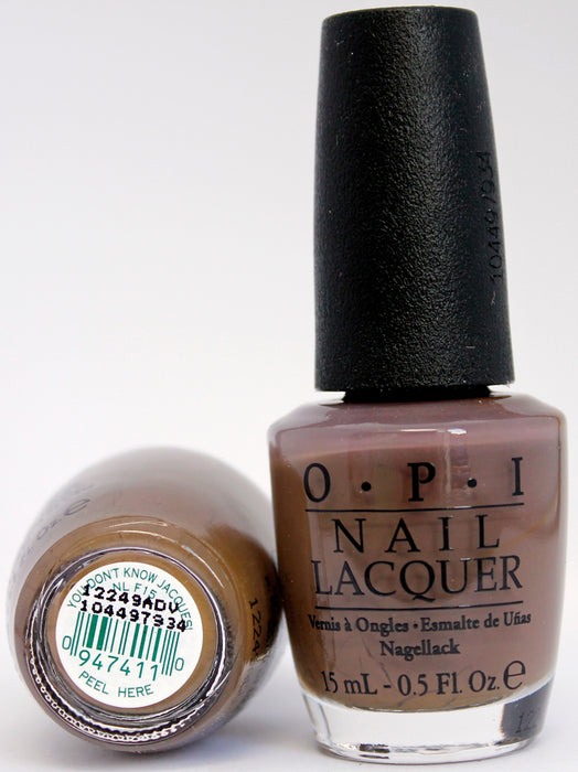 OPI Nail Polish NL F15 You Don't Know Jacques!