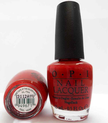 OPI Nail Polish NL F64 First Date at the Golden Gate