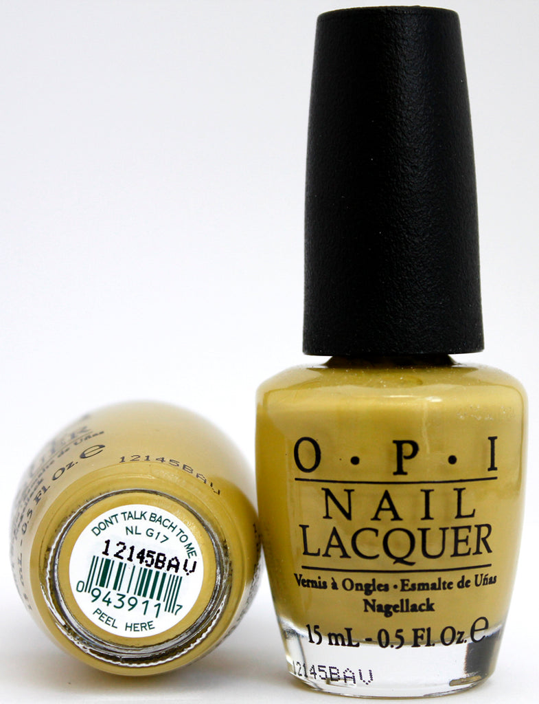 OPI Nail Polish NL G17 Don't Talk Bach to Me