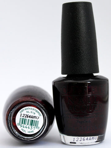 OPI Nail Polish NL G18 Every Month is Oktoberfest